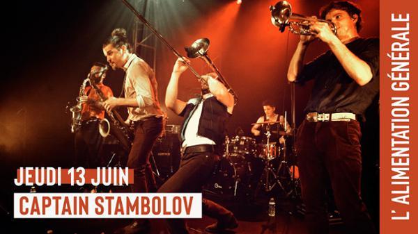 Captain Stambolov (brass band balkan) // L'Alimentation Générale