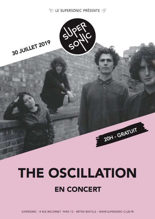 The Oscillation en concert au Supersonic (Free entry)
