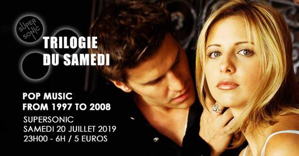 Trilogie du Samedi #18 // Nuit 90s 2000s du Supersonic