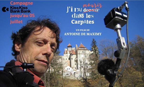 RENCONTREZ ANTOINE DE MAXIMY - J'IRAI DORMIR A PARIS