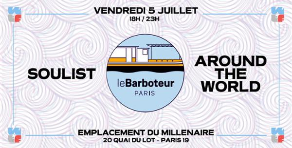 What The Funk au Barboteur : Soulist x Around The World