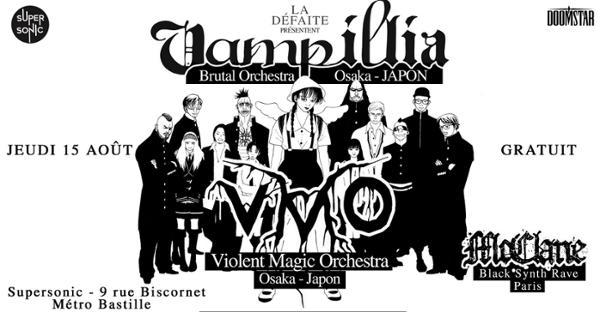 Vampillia • VMO • Mcclane / Supersonic (Entrée gratuite)