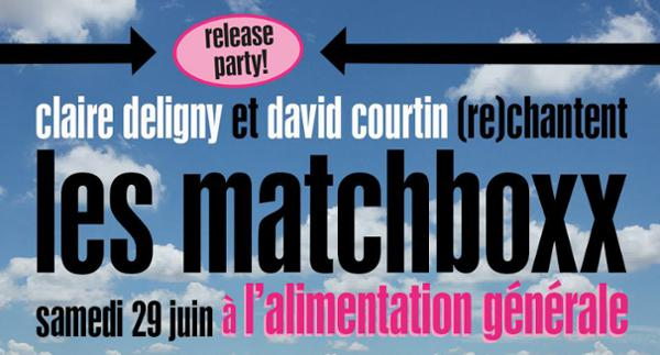 Les Matchboxx - Release party à l'Alimentation Générale