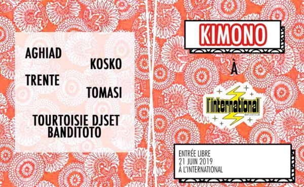 Tomasi présente Kimono (-1) / 21 Juin 2019