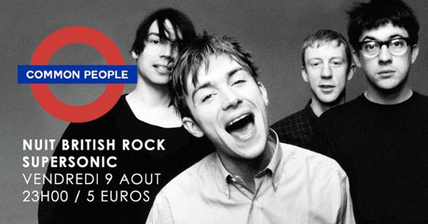 Common people #4 / La Nuit British Rock du Supersonic