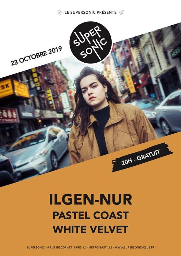 Ilgen-Nur • Pastel Coast • White Velvet / Supersonic (Free)