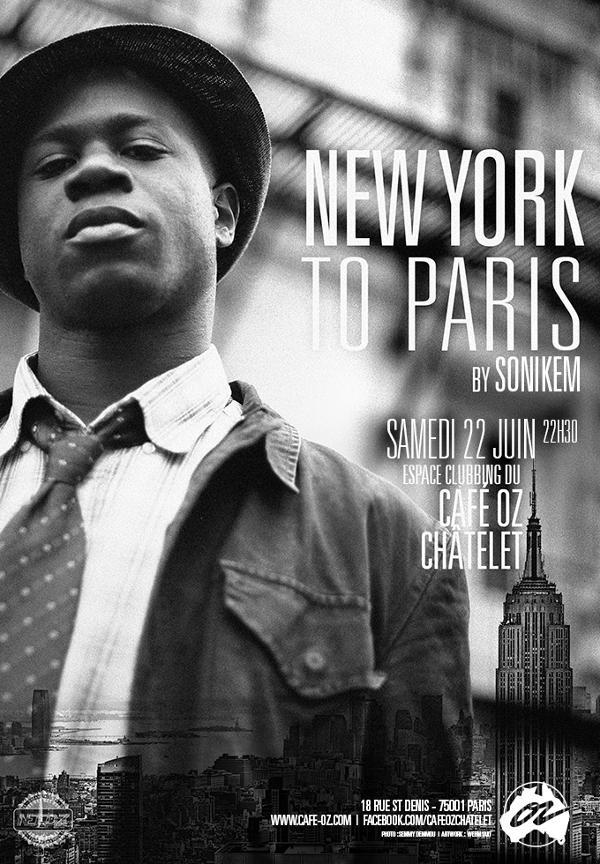 New York to Paris #juin by Sonikem