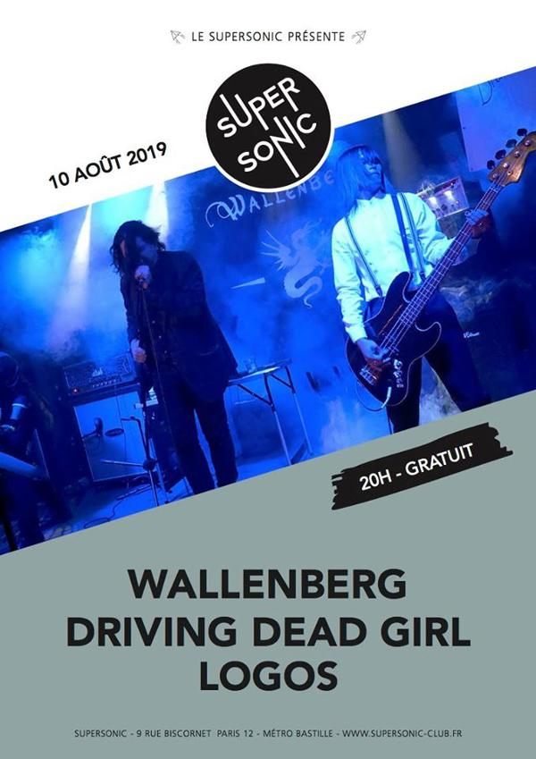 Wallenberg • Driving Dead Girl • Logos / Supersonic (Free)