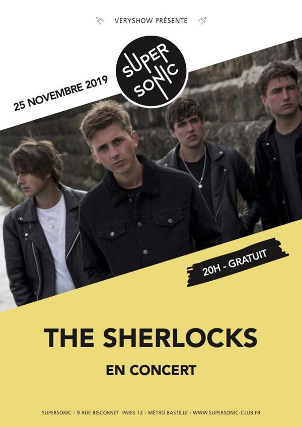 The Sherlocks en concert au Supersonic (Free entry)