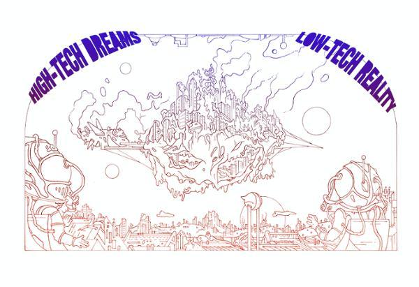 DETROIT CITY GUIDE VOLUME 3    HI TECH DREAMS / LO TECH REALITY