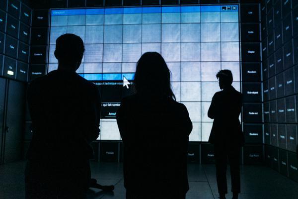 Ouverture nocturne de l'exposition Computer Grrrls à la Gaîté Lyrique