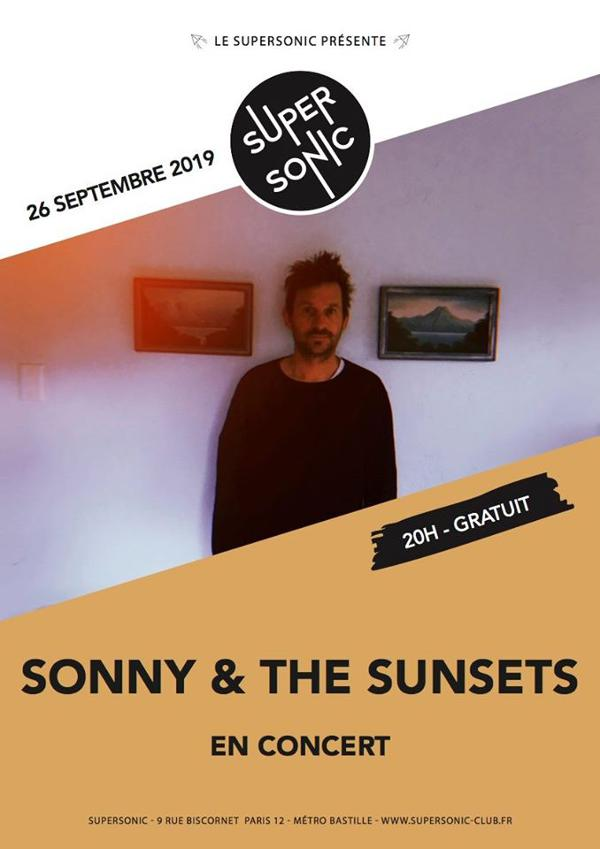 Sonny & the Sunsets en concert au Supersonic (Free entry)