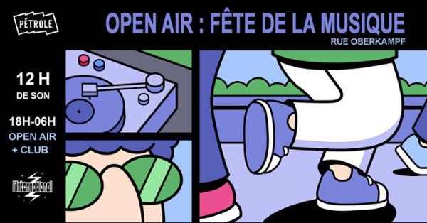 Fête de la musique : Open Air rue Oberkampf !