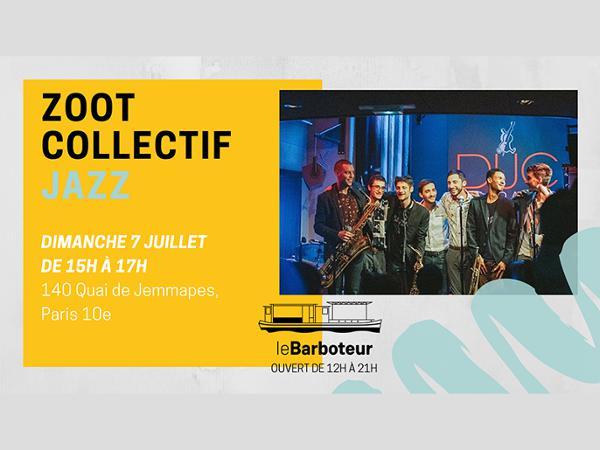 Zoot Collectif // Jazz au bord du canal