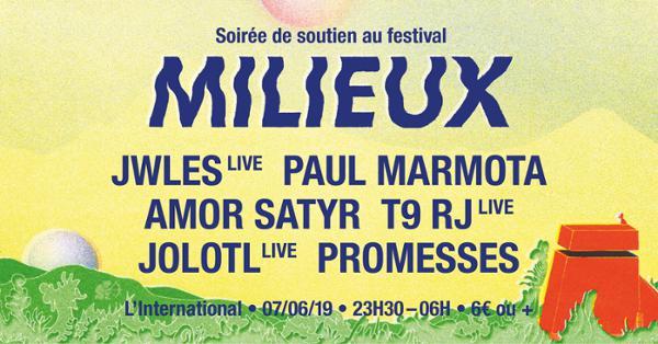 Festival Milieux | Soirée de Soutien