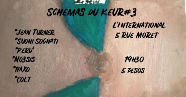 Schémas du Keur#3 Jean Turner, Peru°, Suoni Sognati, Haxo & more