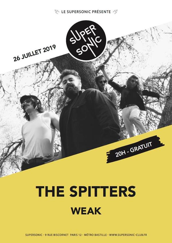 The Spitters • Weak / Supersonic (Free entry)