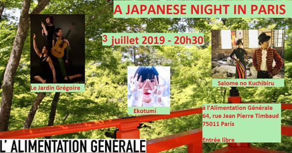 Japanese Night In Paris