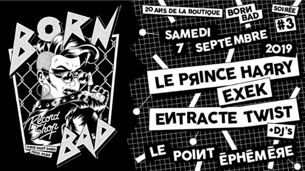 20 ANS DE BORN BAD RECORDSHOP
