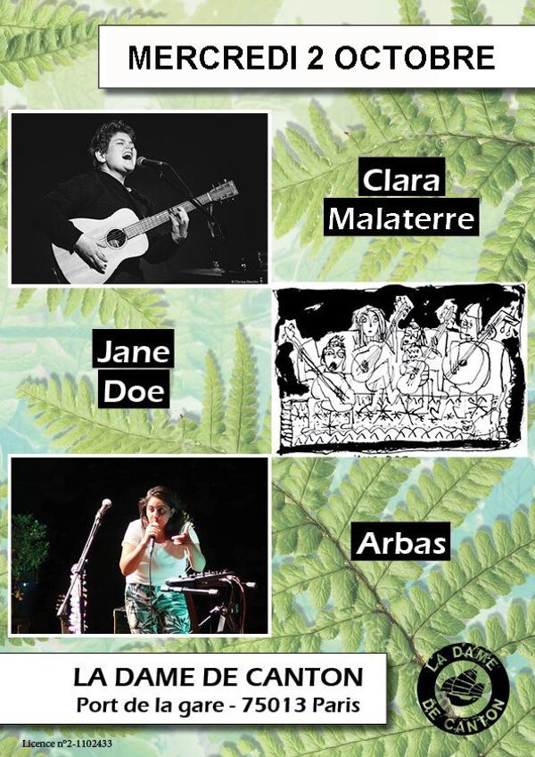 ARBAS + CLARA MALATERRE + JANE DOE