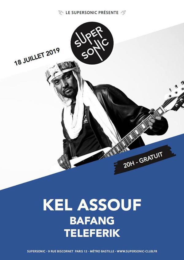Kel Assouf • Bafang • Teleferik • Arabian Fuzz / Entrée gratuite