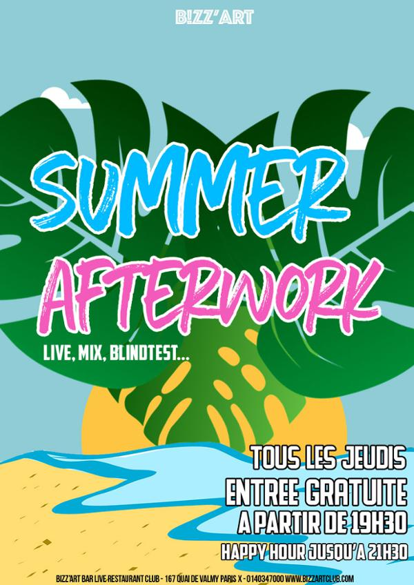 Summer Afterwork ft. Naya & DJ JP Mano