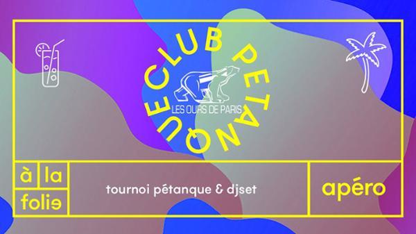 Club Pétanque : les ours de Paris