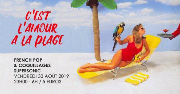 C'est l'amour à la plage / French Pop et Coquillages