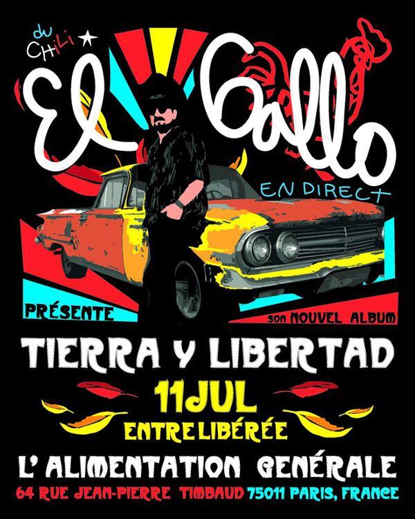 El Gallo + guests (corrido, cumbia) // L'Alimentation Générale