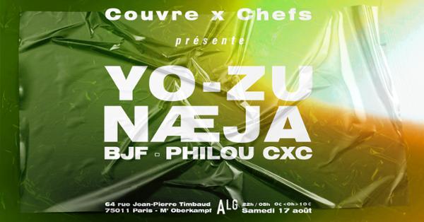 Couvre x Chefs : YO-ZU, Næja, BJF, Philou CxC