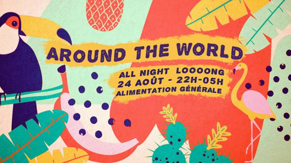 Around The World - All Night Long