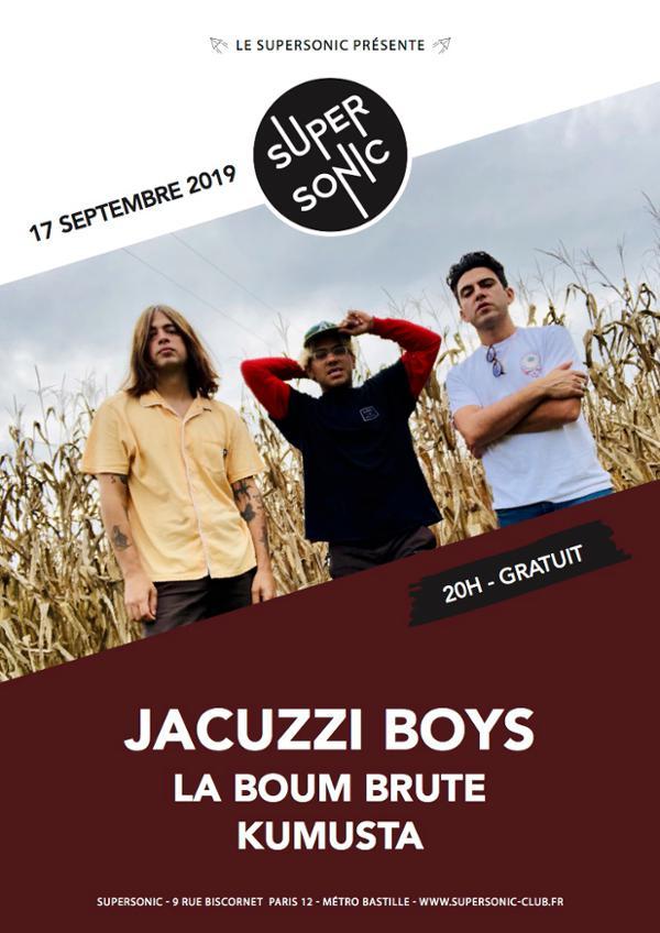 Jacuzzi Boys • La Boum Brute • Kumusta / Supersonic (Free)