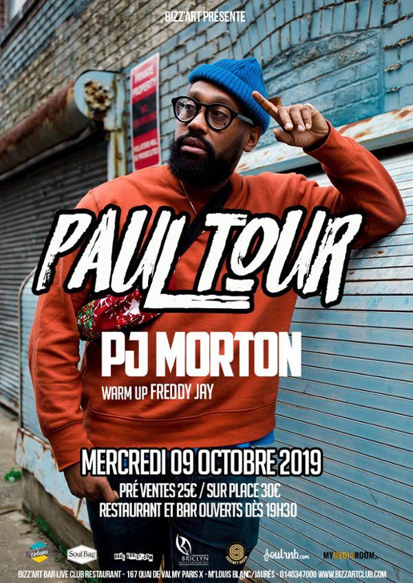 PJ Morton en live !
