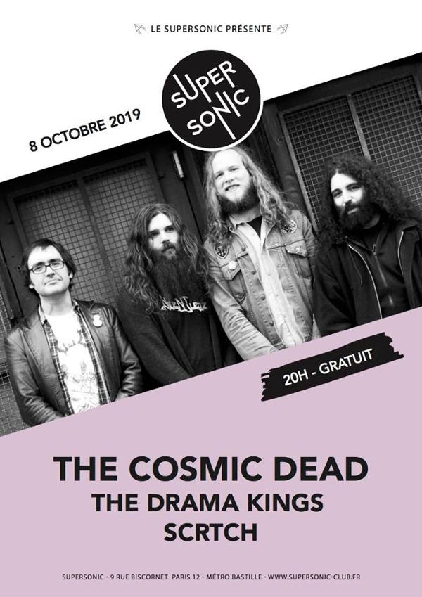 The Cosmic Dead • The Drama Kings • Scrtch / Supersonic (Free)