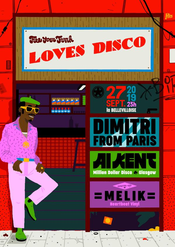 FREE YOUR FUNK LOVES DISCO