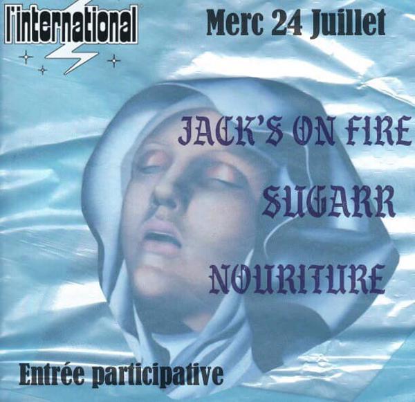 Jack's on fire - Sugarr - Nouriture @linternational