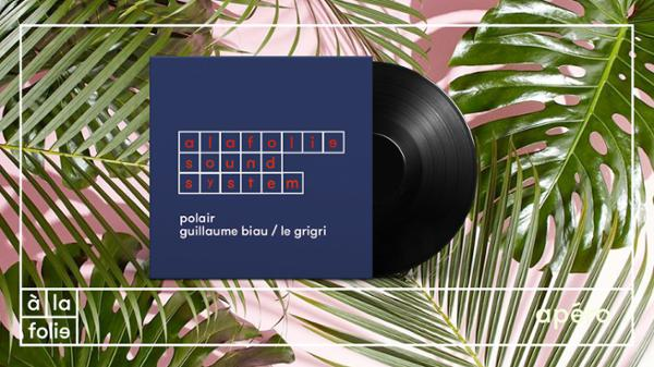 A la Folie SoundSystem : polair & Guillaume Biau