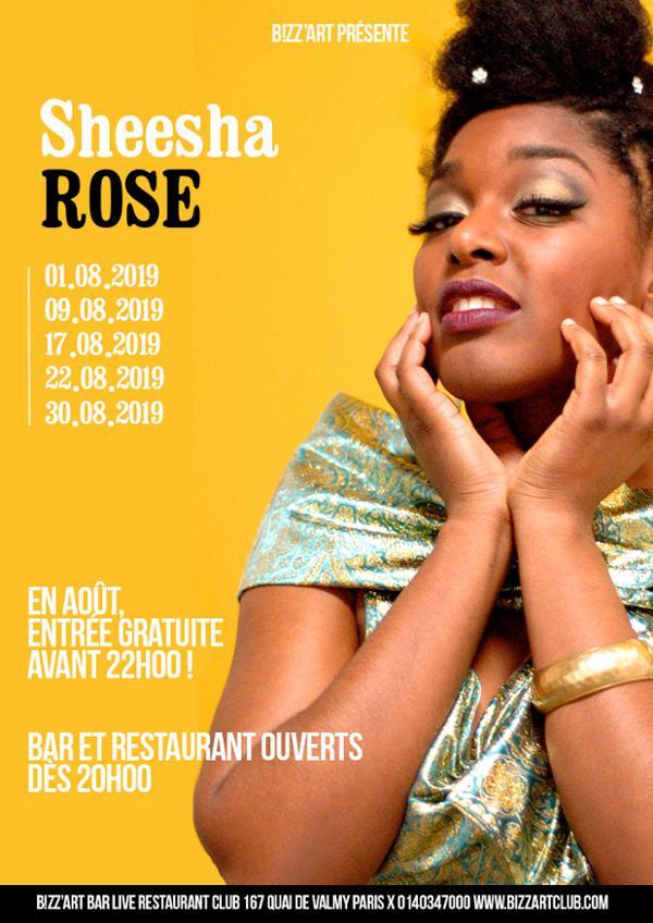 Sheesha Rose en live !