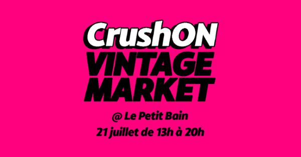 LES DIMANCHES PARRESSEUX | BAIN DE VINTAGE x CRUSH'ON