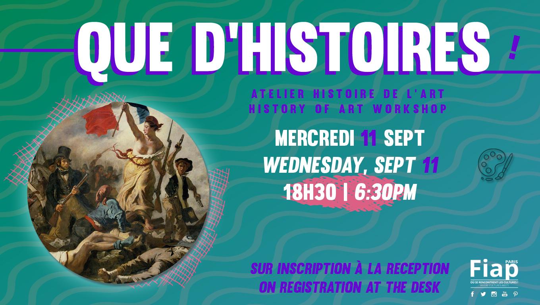 Atelier histoire de l'Art #2 @FIAP
