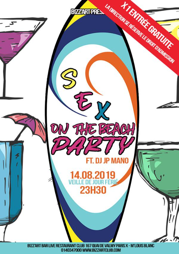 Sex on the beach party