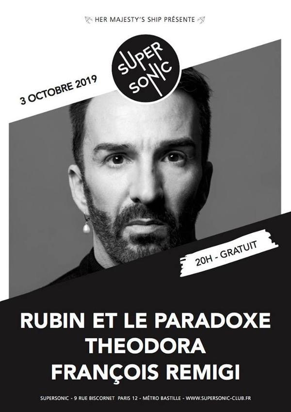 Rubin et le Paradoxe • Théodora • François Remigi / Supersonic