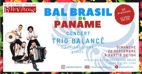 BAL BRASIL DE PANAME w/ TRIO BALANCE