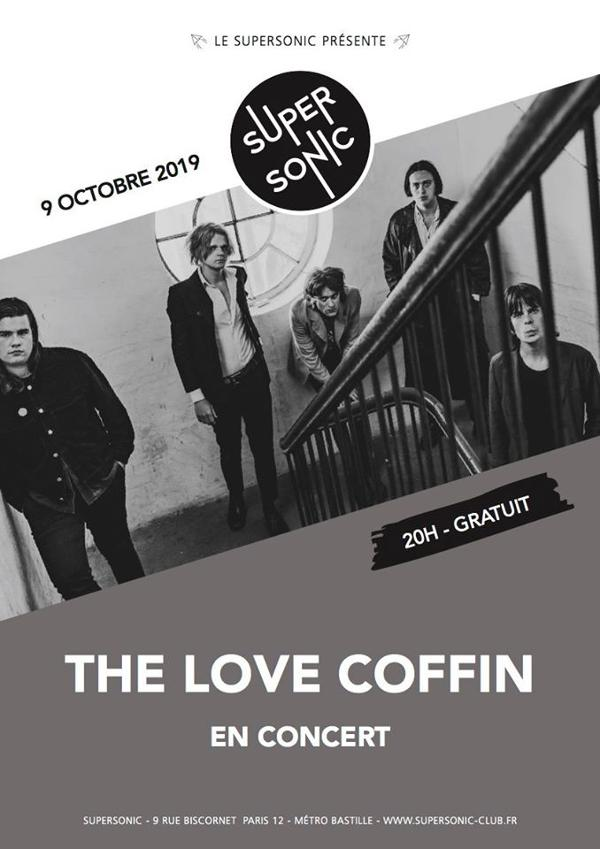 The Love Coffin en concert au Supersonic / Free entry
