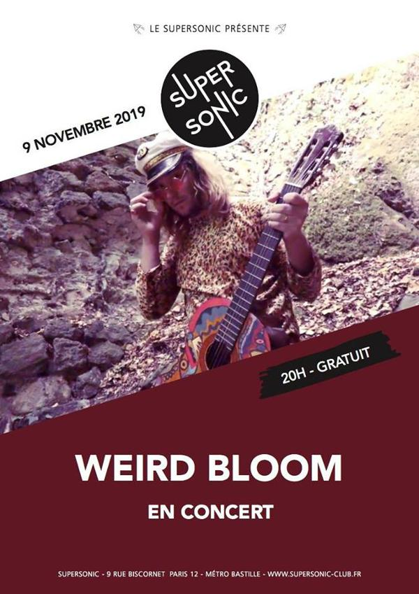 Weird Bloom en concert au Supersonic (Free entry)