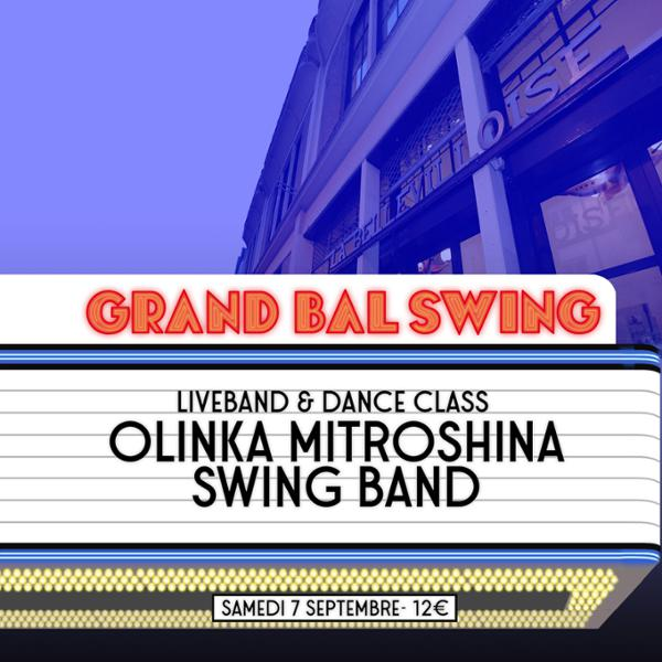 GRAND BAL SWING w/ OLINKA MITROSHINA SWING BAND