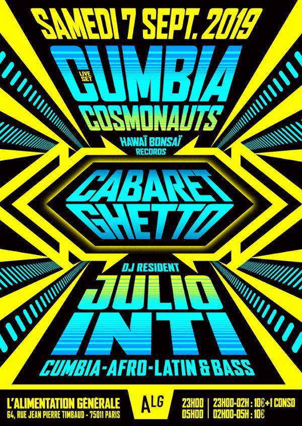 CABARET GHETTO W/ CUMBIA COSMONAUTS