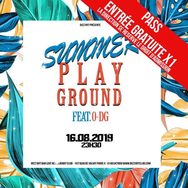 Summer playground ft. O-DG