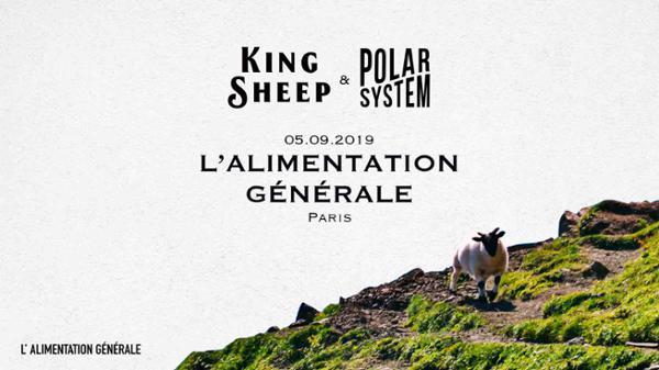 Indie night : King Sheep + Polar System