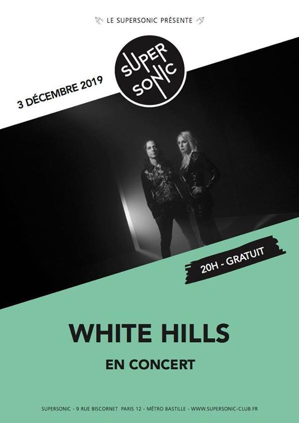 White Hills en concert au Supersonic / Free entry